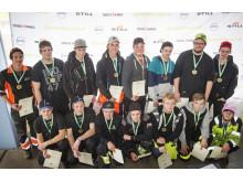 Samtliga deltagare från Kvaltävling till Yrkes-SM i Östersund
