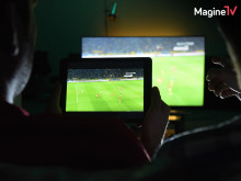 """Foto TV-Spot """"Fußball da!"""" 02, Magine TV"""
