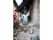 Joshna, 10 år, i Bangladesh