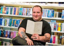 POWER OF WORDS: Autistic poet Adam Souter has donated copies of his anthology Eidetic Emotions to Rochdale Borough Libraries