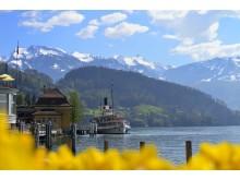 Ostersonntag auf dem Dampfschiff Uri (Luzern-Vierwaldstättersee) © Christian Perret/SGV