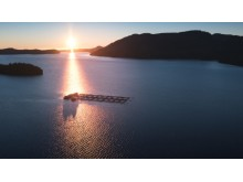 700x394_Cermaq brand photos, salmon farm sunset