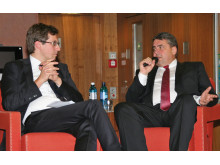 Mit Spitzenpolitikern im Gespräch