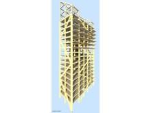 3D модель Башни Мьёс