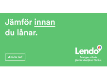 Jämför innan du lånar, med Lendo.
