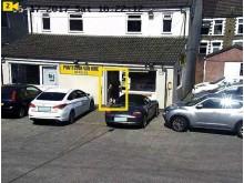 CCTV - Van hire courtyard