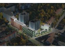 Byggstart för 104 hyresrätter i Jakobsberg