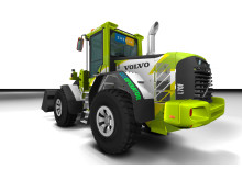 Volvo L70F Green Racing - illustration