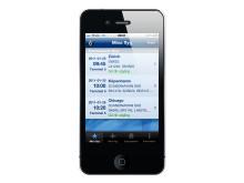 Arlanda flygplats Iphone applikation - Mina flyg