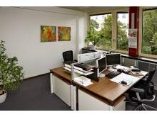 Mitarbeiterzimmer 2-Platz-Lösung