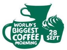 MacMillan Cancer World's Biggest Coffee morning logo