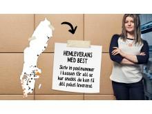 NetOnNet inför klimatkompenserade, flexibla och snabba hemleveranser
