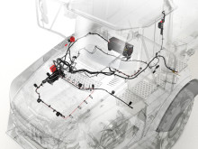 Volvo dumprar - installation av brandsläckningssystem
