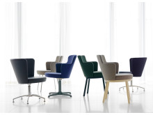 Zen family, chair and easy chairs, design Åke Axelsson, Gärsnäs