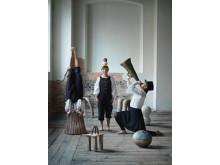 Att rymma med en cirkus, Rebecka Nord, Signe Veinholt, Matilda Haritz Svenson
