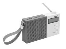 FM-radio sedd från sidan
