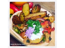 Kartoffel-Ecken-Leckery
