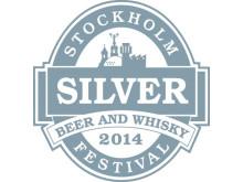 Silvermedalj Laphroaig Stockholm Beer and Whisky Festival