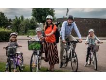 Cykla till skolan