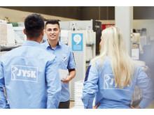 JYSK employees
