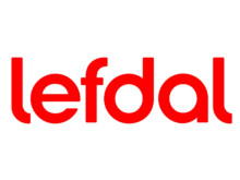 Lefdals nye logo