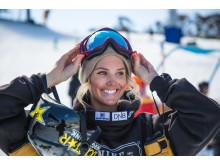 Silje Norendal er OL-klar. Foto: Process Films / Snowboardforbundet