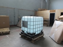 HMRC dismantle fake vodka factory in Liverpool - IBC container