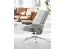 Stressless Paris lav rygg_Calido Light Grey