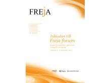 Freja forum inbjudan framsida