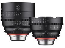 Samyang Xeen 14mm & 35mm