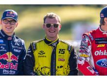 Stjärnspäckat startfält i RallyX On Ice-premiären i Piteå, bland annat VM-stjärnan Reinis Nitiss