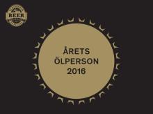 Årets ölperson 2016