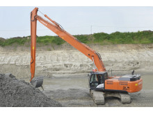 Hitachi ZX350LC-5 Super long front