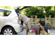 If giver råd om forsikring hos biludlejningen
