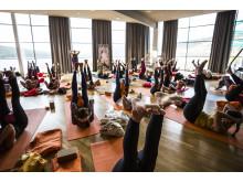 Yogasalen på Holiday Club