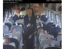 CCTV footage from Corbyn train