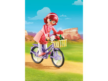 Maricela mit Fahrrad von PLAYMOBIL (70124)