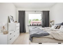 BoKlok radhus 117 kvm - stora sovrummet