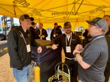 Influencer Tom Gardocki alias Dirt Ninja_engcon Conexpo