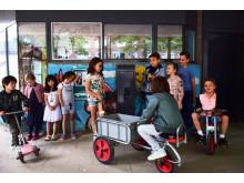 Leren opladen bij de Buitenveldertse Montessorischool (Amsterdam)