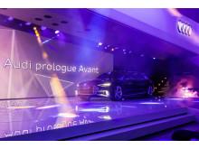 The Audi prologue Avant on the Geneva Motorshow 2015