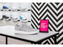 Sneakers Point öppnade i slutet av mars 2018