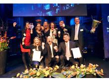 Skövdebostäder vinner kundkristaller 2017