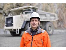 Lars-Göran  Rutqvist - kund Terex Trucks TR100