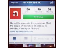 Mynewsdesk på Instagram
