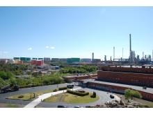 Preems raffinaderi i Lysekil