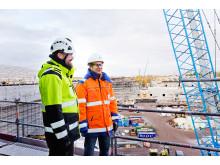 Olympiastadion Eino Sjögren ja Jukka Järvinen