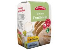 Familiebrød med d-vitamin og kalsium