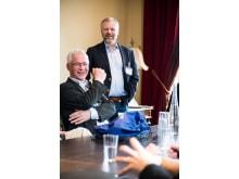Janne Larsson, vd, och Michael Engström, affärsansvarig, är nöjda med den nya versionen