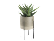 Plant pot MANDRUP Ø18xH28cm wstand (129 DKK)